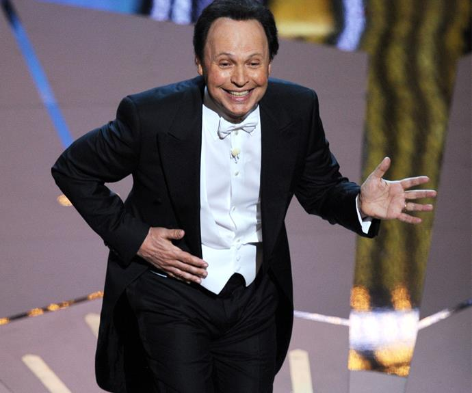 Billy Crystal is a fan favourite, with the show asking him back nine times!