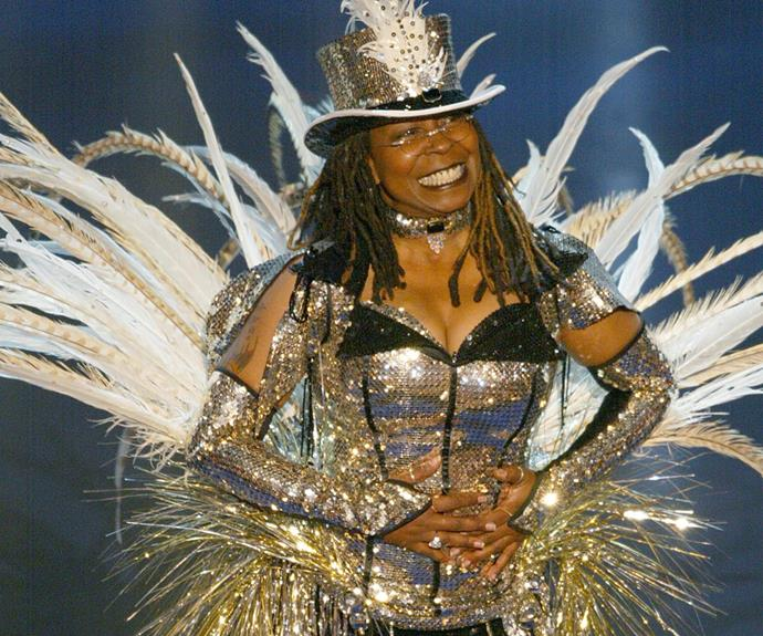 Whoopi Goldberg has had a good run as well! The actress has been asked to host four times between 1994 and 2002.