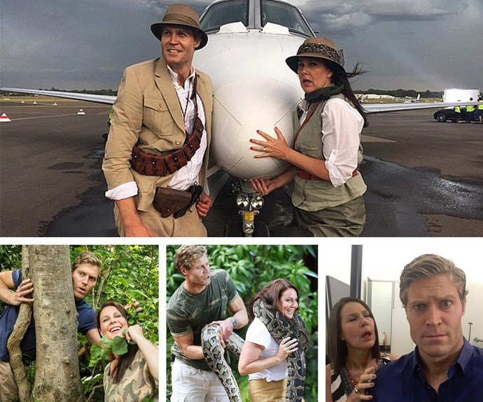 We're pumped to see the pair back together on the hilarious reality show that takes them to the depths of the South African jungle.