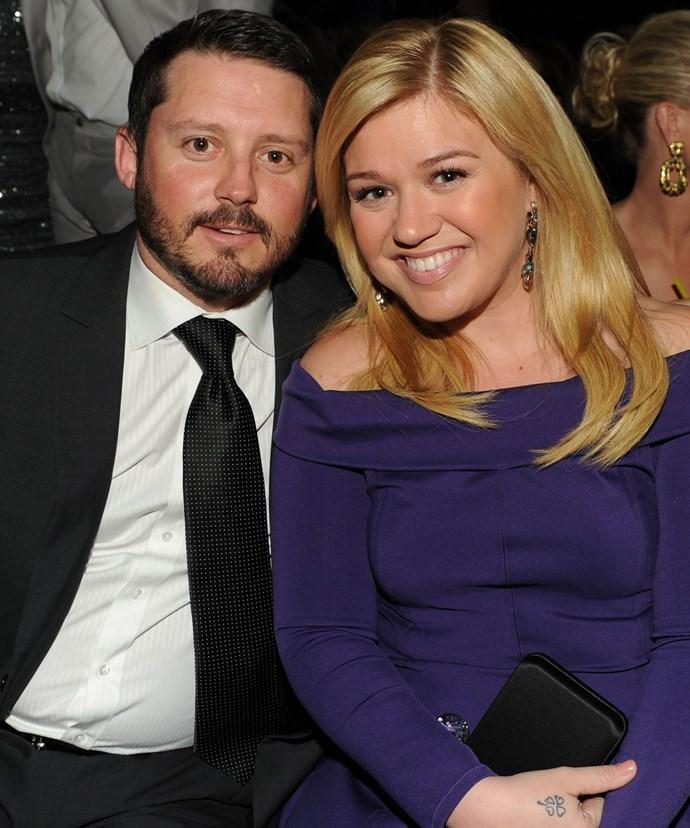 Kelly and her husband Brandon Blackstock.