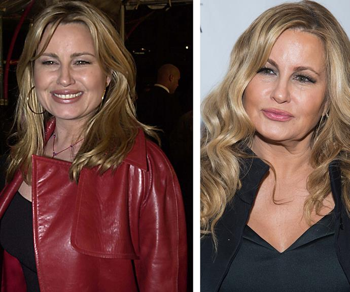 She rose to fame playing Stifler's mum in *American Pie* and Jennifer Coolidge, 54, hasn't aged a day since the early Noughties (L).