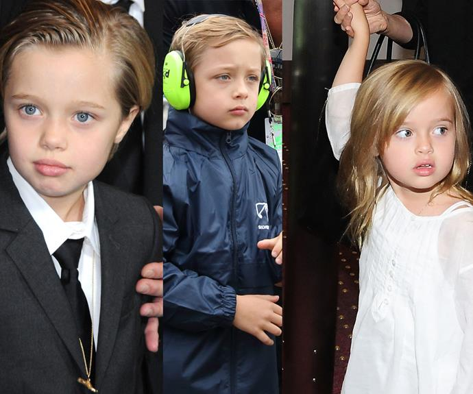 Indeed, there's a strong similarity between Shiloh and his younger siblings, [twins Knox](http://www.womansday.com.au/celebrity/hollywood-stars/brad-pitt-and-knox-jolie-pitt-attend-the-motogp-13521) and Vivienne, seven, who are all the perfect mix of both parents.