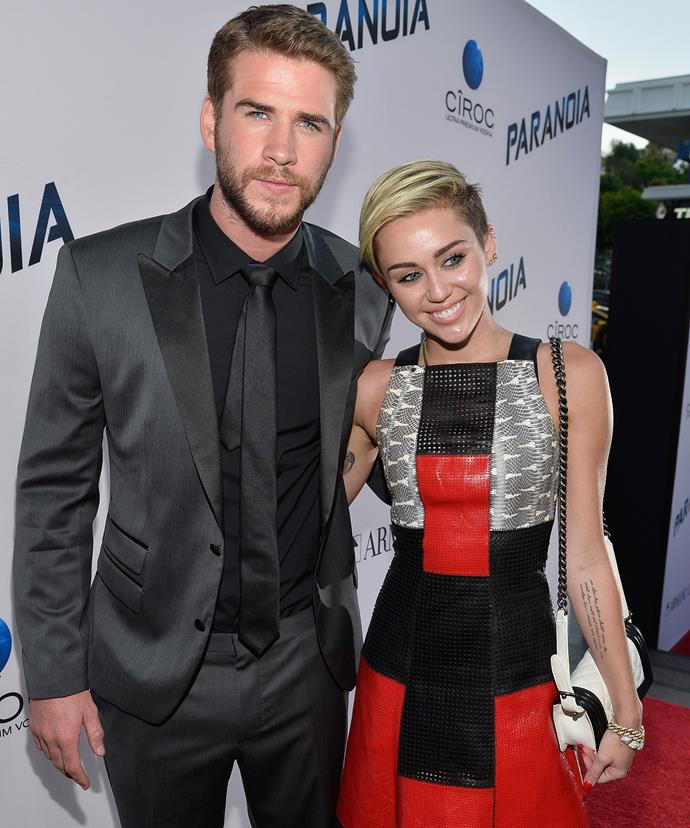 Liam Hemsworth and Miley Cyrus called off their engagement 2013.