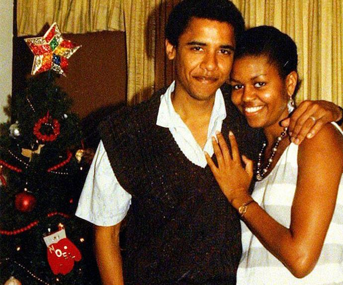 All hail America's commander-in-chief Barack and his wife Michelle Obama.