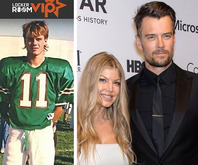 Josh Duhamel joked that he's still waiting to be drafted into the NFL when he shared this high school throwback.