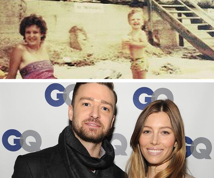 "Nawwww we see were [baby Silas gets his cute factor.](http://www.womansday.com.au/celebrity/hollywood-stars/justin-timberlake-shares-new-photos-of-son-silas-13630) Justin Timberlake shared this sweet photo for his mum's birthday, calling her his ""first partner in crime!"""