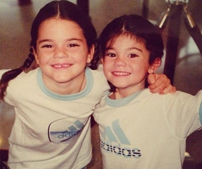 Wow! Before Kendall and Kylie Jenner became the world's most watched siblings, they were just two little sisters who rocked Adidas and pigtails.