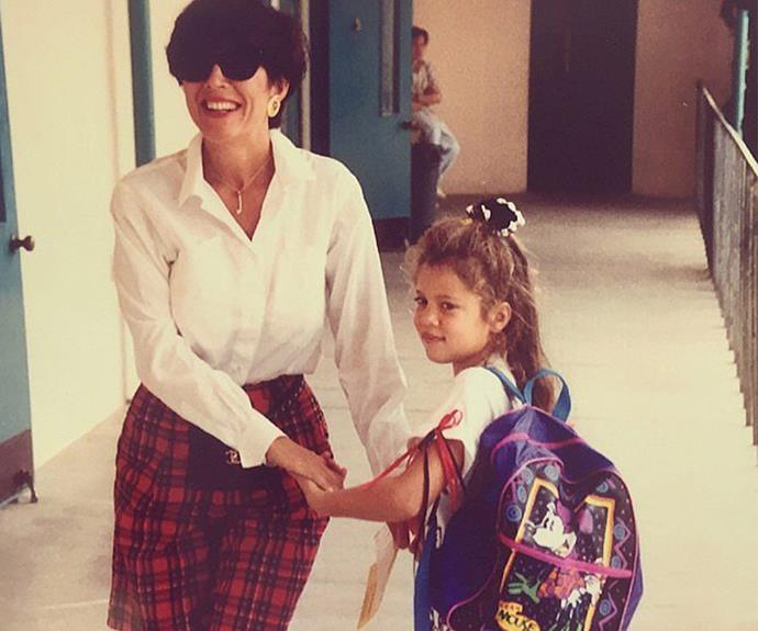 And Khloe was just another student heading to school.