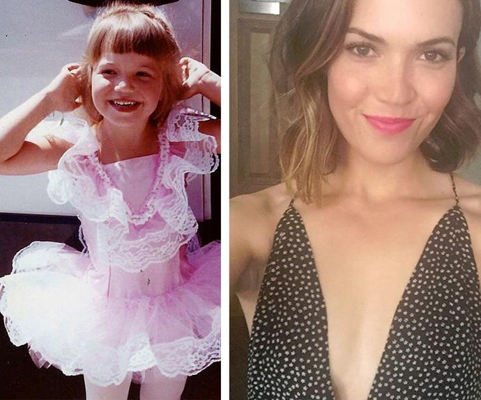 We're missing Mandy Moore like candy but when she delivers super sweet throwbacks from young ballets days - it makes us that much fonder of the pop star!