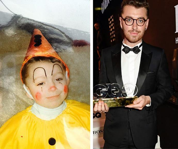 Sam Smith swapped his clowning days to be one of the world's most acclaimed singers.