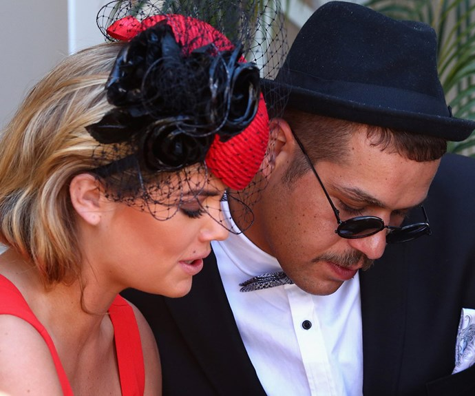 """While Jesinta was absent from the event because of work duties, the *Sports Illustrated* pin-up was forced to set the record straight following the flirting claims. """"I just met him. We were at the same event,"""" the model explained."""