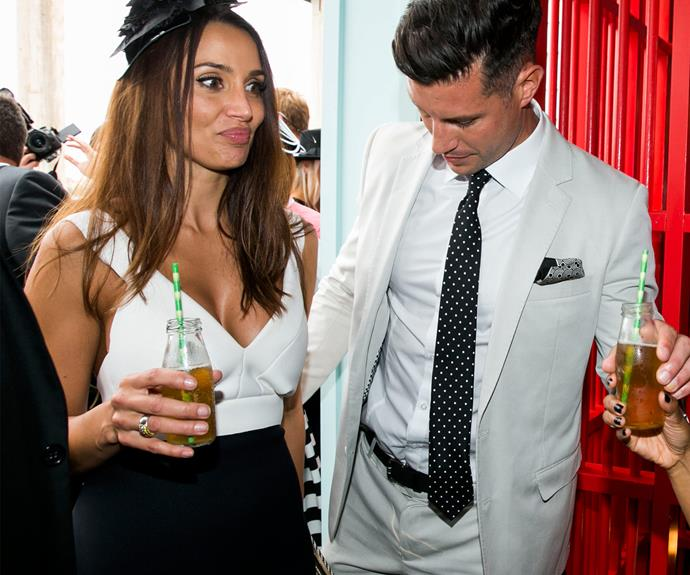 She might be in love with the fitness guru but Snezana is still unimpressed by the wardrobe malfunction!