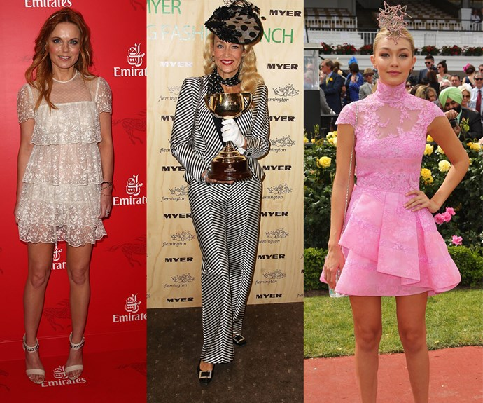 From Ginger to Gigi and Jerry Hall - the annual event is always packed to the brim with international stars!