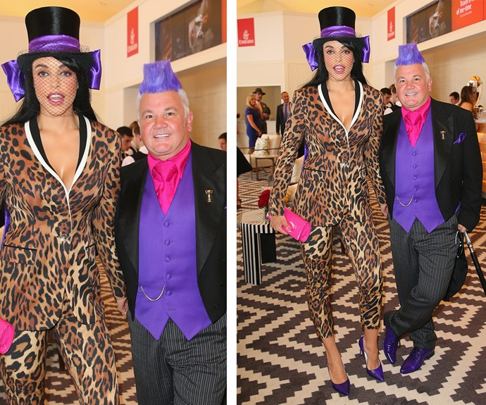 All eyes were on the Mayor of Geelong Darryn Lyons and his fiancee, Elissa Friday, in 2014 when they showed up in these very daring ensembles.