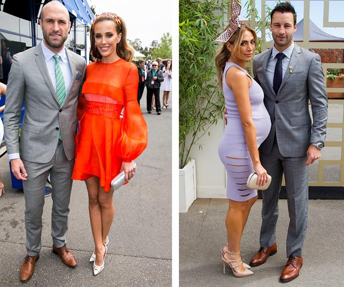 A-list couples were out in full force including Rebecca and Chris Judd plus Nadia and Jimmy Bartel.