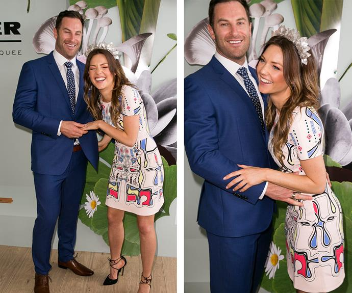 Talk about smitten kittens! [*The Bachelorette*](http://www.womansday.com.au/entertainment/tv-soaps-books/the-bacherlorette-boys-where-are-they-now-13953) stars Sam Frost and Sasha Mielzcarek positively beamed as they posed for photos together.