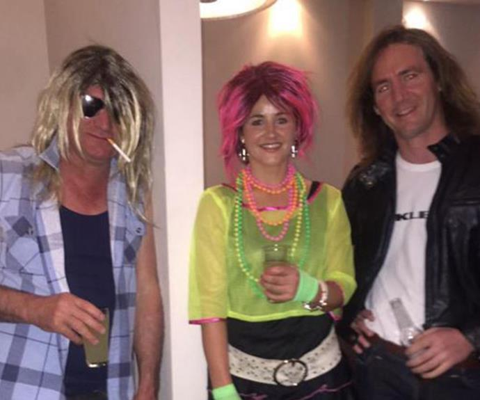 Despite her hectic career, Michelle still enjoys letting her hair down with her mates. In September, the athlete celebrated her 30th birthday with a fancy dress bash.