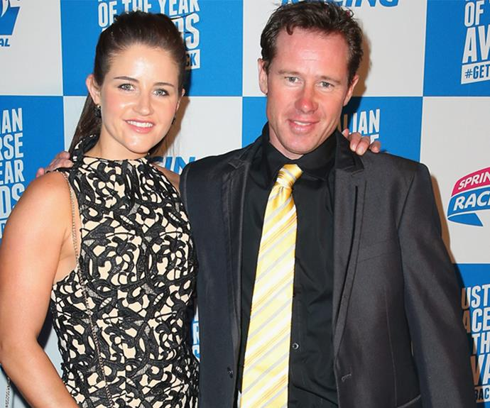 Michelle and one of her other brothers, Patrick, attended the Melbourne Spring Racing Carnival Launch in 2014 - little did she know a year later she'd take out the highest honour!