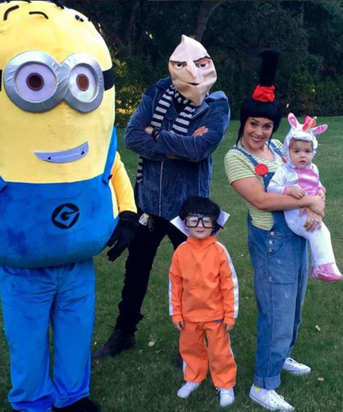 Alyssa's family went all out for Halloween.