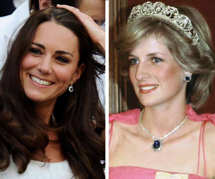 In an effort to make Catherine feel closer to his mother, William remodeled one of his Diana's favourite earrings.
