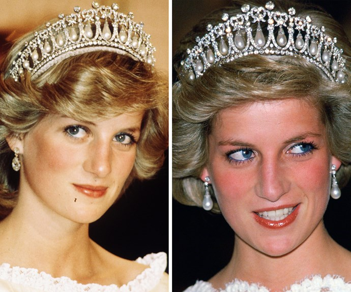In 1983, she gifted it to Princess Diana, who often wore the sparkling bling to formal events. After her divorce from Prince Charles, the iconic headwear was returned back to The Queen.