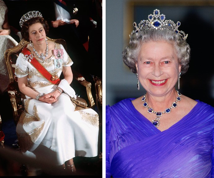 When you're the longest-reigning monarch, it's only fair you have enough jewels for every day of the year!