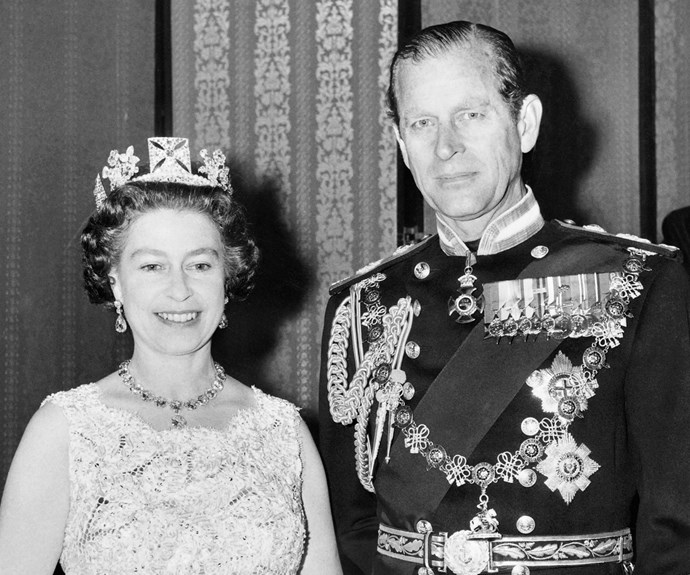One of the most prolific jewelled crowns, it was created in 1820 for the coronation of King George IV. You can now see it at the State Opening of Parliament – Queen Elizabeth wears it in the procession to the event every year. And of course Her Majesty knows exactly what to pair the crowning jewels with...