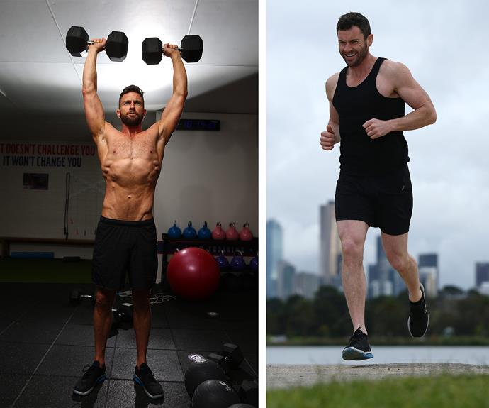 He committed to working out 