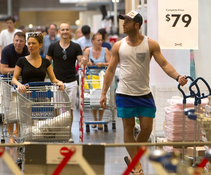 Too cute! *Bachelorette* couple Sam Frost and Sasha Mielczarek recently headed to IKEA in Sydney - perhaps they'll be moving in sooner rather than later.