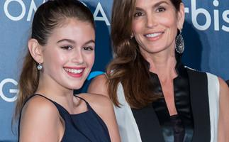 Strike a pose: Kaia Gerber makes her Vogue cover debut with model mum Cindy Crawford