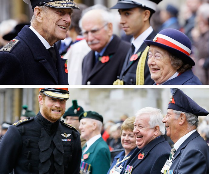 It looks like the [cheeky Prince](www.womansday.com.au/royals/british-royal-family/prince-harry-sports-a-beard-in-first-snaps-from-africa-13385)  has the ability to make people laugh, just like his [94-year-old grandfather](http://www.womansday.com.au/royals/british-royal-family/prince-philip-turns-94-we-celebrate-the-irreverent-man-behind-the-queen-12828).