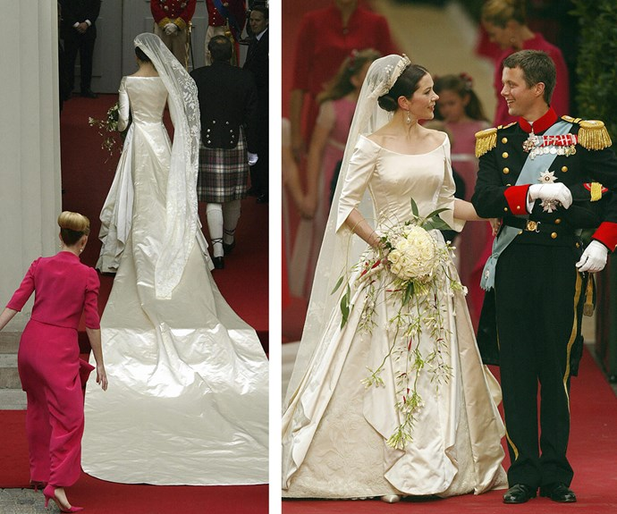 "[The couple married on May 14, 2004 in Copenhagen.](http://www.womansday.com.au/royals/royal-style/royal-weddings-through-the-ages-13295|target=""_blank"")."