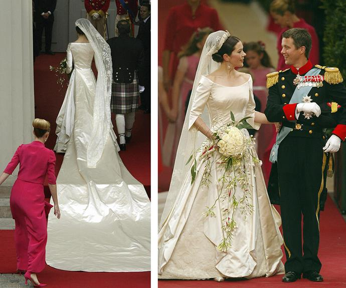 "Fred was a man in love, and [the couple married on May 14, 2004](http://www.womansday.com.au/royals/royal-style/royal-weddings-through-the-ages-13295|target=""_blank""), in Copenhagen."