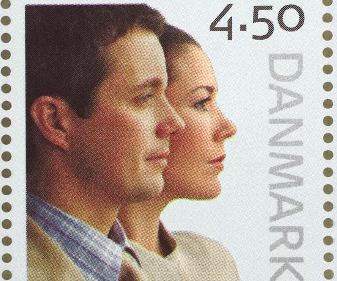 The Danish royals sealed their marriage with an official stamp.