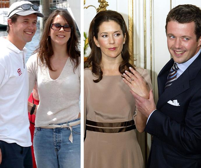 "After Frederik proposed in 2003, Mary joked that she ""wasn't allowed to say no"" to the engagement."