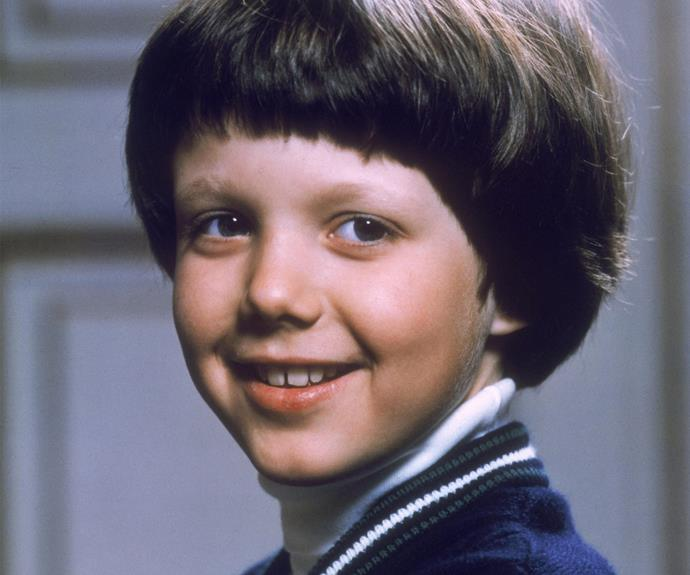 Prince Frederik may be a royal, but not even he could escape the bowl haircut epidemic! Fortunately his charming smile and those adorable cheeks make him look very sweet.