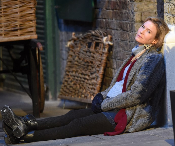 [In October,](http://www.womansday.com.au/entertainment/movies/first-look-at-renee-zellweger-in-the-new-bridget-jones-13837) Renee was spotted filming scenes at the Borough Market in London.