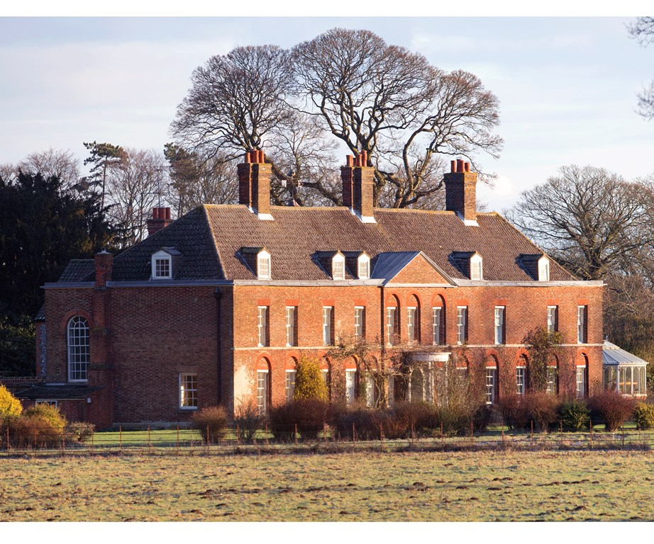Anmer Hall, Catherine and William's country escape and former full-time residence.