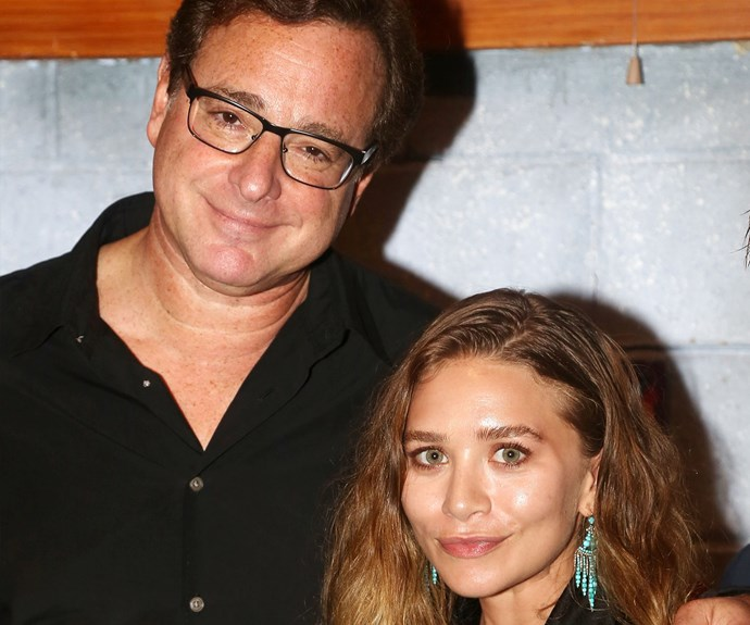 """Loved having my dear friend Ashley Olsen at my welcoming opening of @HandToGodBway,"" Bob shared."