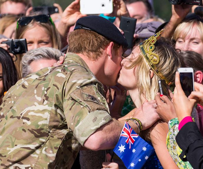 "[Victoria McRae](https://www.nowtolove.com.au/royals/british-royal-family/i-proposed-to-prince-harry-48389|target=""_blank"") had the guts to smooch him before asking him to marry her."