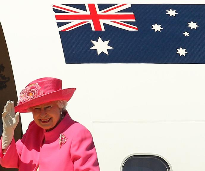 """Ever since I first came here in 1954 I have watched Australia grow and develop at an extraordinary rate. This country has made dramatic progress economically, in social, scientific and industrial endeavours, and above all, in self-confidence,"" The Queen said in 2011."