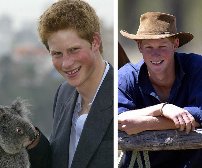 The young royal loved getting to know the locals, including this cute koala.
