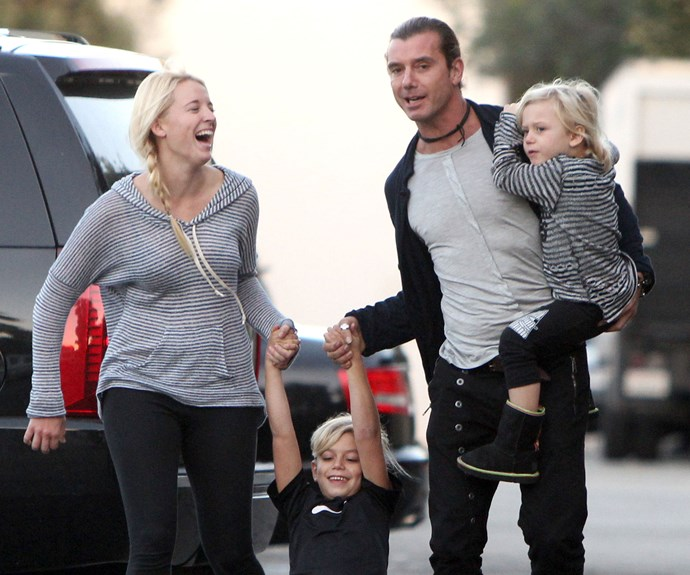 Mindy Mann and Gavin Rossdale