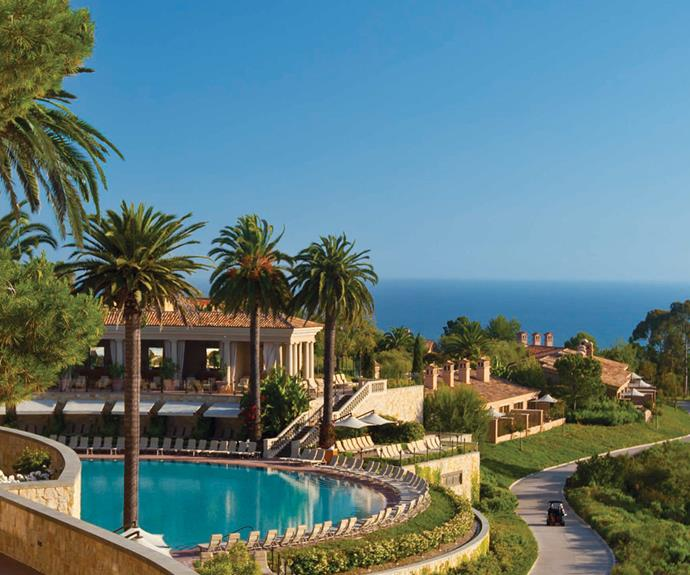 Arriving at Pelican Hill is a truly jaw-dropping moment! [Image/courtesy of Pelican Hill]