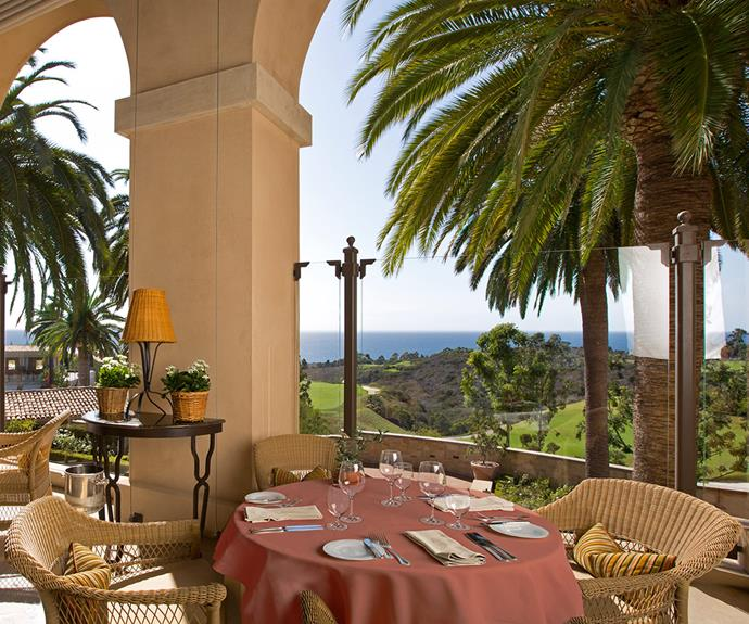 Andrea restaurant has a mouth-watering section of hand-made pastas and local wines. [Image/courtesy of Pelican Hill]