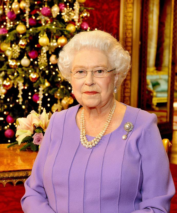 The Queen Christmas address is watched by the royal family together while her Majesty prefers to watch it alone in another room.