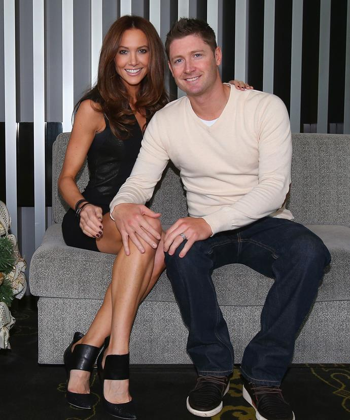 Kyly and Michael Clarke first met when they both attended Parramatta Westfields Sports High School.