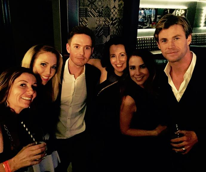 In 2015, there was a mini *Home and Away* reunion when Kate Ritchie and Bec Hewitt supported their former co-star Chris Hemsworth at the Sydney premiere of *In The Heart Of The Sea*.