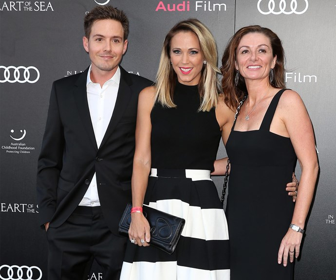 Bec Hewitt enjoyed a night away from her hubby, Lleyton and their three kids to attend the film screening.