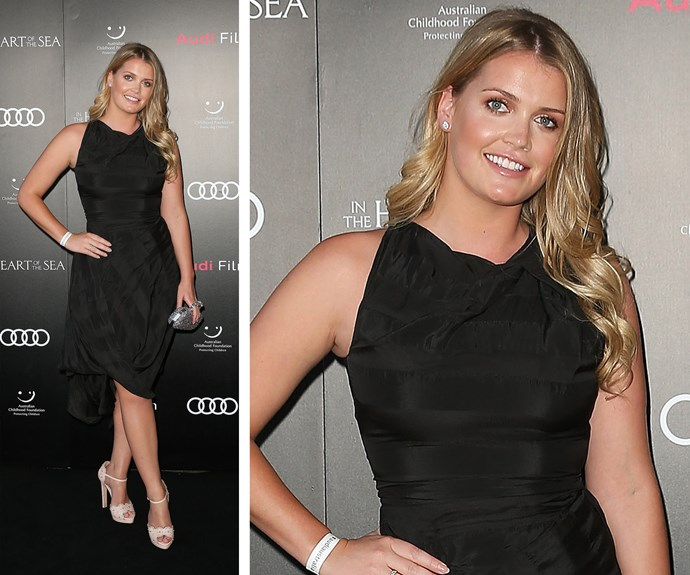 The film premiere got the royal seal of approval with attendee, Lady Kitty Spencer.